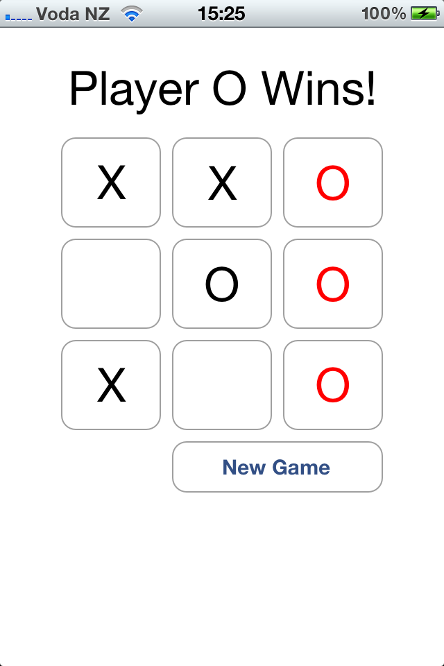 Screenshot XOXO Game Lite