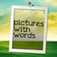 Pictures with Words free logo