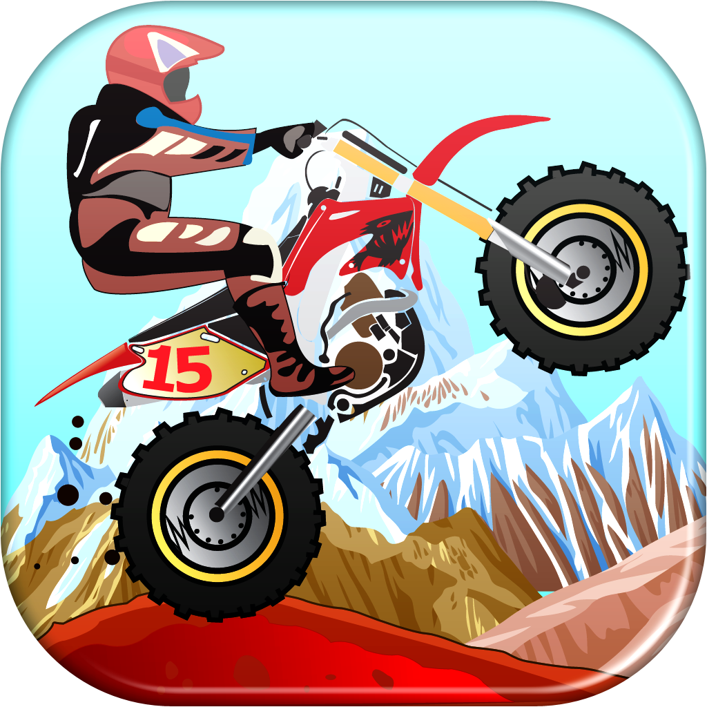 A Moto X Speed Games Desert Racing Jump Challenge for Fast Boys FREE